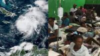 Haití: tormenta Grace provoca fuertes lluvias en una de las ciudades más golpeadas por el terremoto.