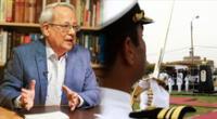 César Hildebrandt no se calló nada y habló sobre los integrantes de la Marina de Guerra del Perú.