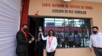 Poder Judicial inaugura juzgados en lugares más recónditos de la ciudad de Tumbes