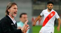 Se especula que Caros Zambrano no fue convocado por Gareca por su expulsión ante Brasil.
