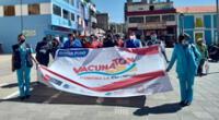 Ica, Puno y Huancavelica inician de forma exitosa jornada de Vacunatón contra el COVID-19