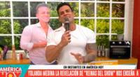 Christian Domínguez regresa a América hoy tras visita de Vania Bludau.