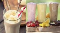 Batidos de diferentes sabores para aumentar la masa muscular.