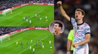 Bayern Múnich se adelantó en el marcador ante Barcelona por el grupo E de la Champions League.
