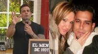 Christian Domínguez recordó que se casó muy joven, y que hasta ahora no puede divorciarse porque ella vive en EE.UU. y no quiere.
