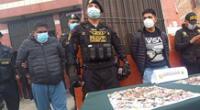 Criminales fueron detenidos por la PNP, durante operativo en La Parada.