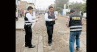 Policía llegó al lugar para las diligencias del caso