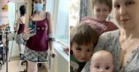 """Madre perdió una pierna por cáncer para poder tener a su hija: """"Estoy feliz, todo valió la pena"""""""
