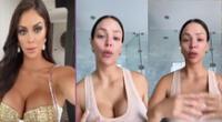 Sheyla Rojas revela su rutina de belleza.