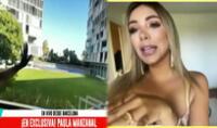 Paula Manzanal sorprendió al revelar que ahora vive casi frente al mar, en un departamento de cuatro cuartos en una lujosa zona de Barcelona.
