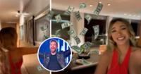 Paula Manzanal mostró el interior de la costosa casa de David Guetta.