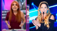 Magaly Medina se molesta con Sofía Franco.