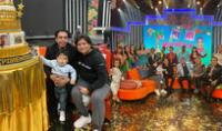 Ernesto Pimentel celebro con su hijo Gael
