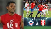 """""""Ante Chile se tienen que ganar los tres puntos"""", señaló Roberto """"Chorri"""" Palacios."""