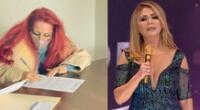 Monique Pardo asegura que Gisela Valcárcel no asistió a cita con conciliador.