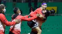 Nicolás Álvarez impuso toda su destreza para llevarse la victoria ante el bosnio Nerman Fatic, con marcadores de 7-6 y 6-4.