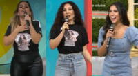 Ethel Pozo, Melissa Paredes, Janet Barboza, Christian Domínguez y Giselo festejaron emocionados sus dos años al aire en América TV.