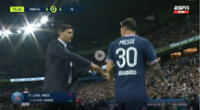 Pochettino confieza qué le dijo a Messi tras el cambio que generó polémica