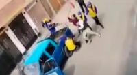 Fiscalizadores y mototaxistas se enfrentaron a palazos