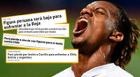 Selección peruana: prensa deportiva chilena resaltan baja de Carrillo para el Perú vs. Chile