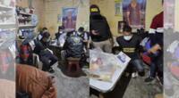 Realizan operativo en Piura y capturan a presuntos integrante de una organización criminal.