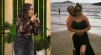 Lady Guillén contó que buscó los antecedentes penales, judiciales de Christiam Uribe, y la psicóloga Lizbeth Cueva le dio su apoyo.