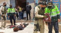 Delincuentes extranjeros pretendían asaltar en ferretería de Puente Piedra.
