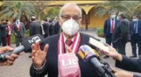 Aníbal Torres se pronunció por el incidente entre premir el canciller