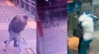 Cámaras de seguridad registraron múltiples robos en el Metropolitano
