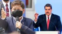 Guido Bellido indicó que Venezuela no sería un país en dictadura.
