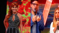 Magaly Medina indignada por comentarios de Gian Piero Díaz y Johanna San Miguel tras accidente de Elías Montalvo. Foto: captura de ATV/ captura de América TV