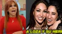 Magaly Medina sobre reconciliación de Melissa y Tepha Loza en vivo.