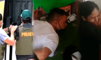 Radanes Sequeda Rojas (21) y Yeferson José Manbel Vizcaya (22), irrumpieron en el interior del local amenazando de muerte a una mujer y una niña.