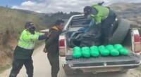 Los sujetos no estaban armados y fueron conducidos a la ciudad de Trujillo.