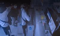 cámaras registran robo a una lavandería