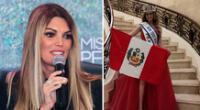Jessica Newton feliz por el nuevo triunfo de Perú.
