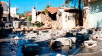 Grecia: varios colegios e iglesias se desprendieron por fuerte sismo.