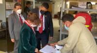 Presidenta del Poder Judicial Elvia Barrios realizó visita inopinada en la Corte de Ica