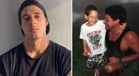 Hugo García comparte tiernas fotos por cumpleaños de su fallecido padre.
