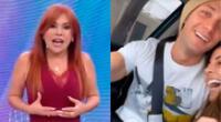 Magaly Medina cuestionó a Luciana Fuster por lucirse con Gabriel Coronel tras mostrarse cercana a Patricio Parodi hace unos días.
