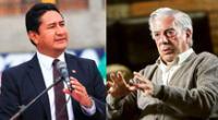 Vladimir Cerrón arremete contra Vargas Llosa