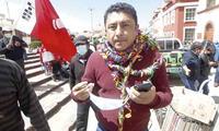 El congresista de Perú Libre, Guillermo Bermejo, tuvo unas polémicas declaraciones sobre los medios de comunicación.