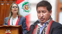 Presidenta del Congreso arremetió contra posición de Guido Bellido.