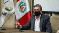 """Ministro de Energía y Minas sobre nacionalización del gas: """"No, ahorita no se está viendo eso"""""""