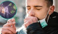 Fumar debilita la función respiratoria después de haber superado la COVID-19.