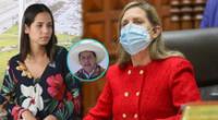 Sigrid Bazán rechazó las declaraciones de María Alva sobre la cuestión de confianza.