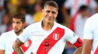 Paolo Guerrero ha sido desconvocado de la selección peruana