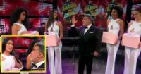 Andrés Hurtado se mostró feliz y contento de presentar a quien podría ser la próxima Miss Perú.