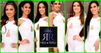 De derecha a izquierda: Danna Casimiro, María Fernanda Bernaola, Maryori Morán, Yely Rivera, Mei Azo y Camila Escribens.