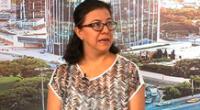 Gisela Ortiz juramentó como nueva ministra de Cultura.